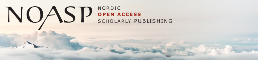 Logo NOASP - Nordic Open Access Scholarly Publishing